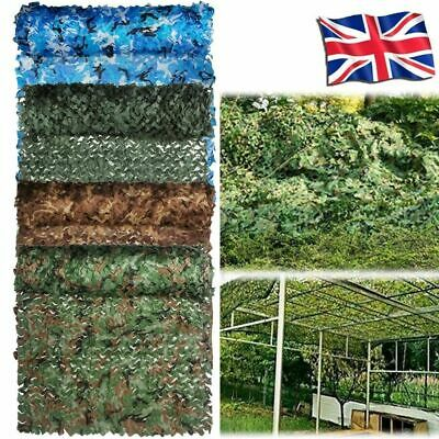 £11.99 • Buy Camo Net Hunting/Shooting Camouflage Netting Hide Army Camping Woodland Netting