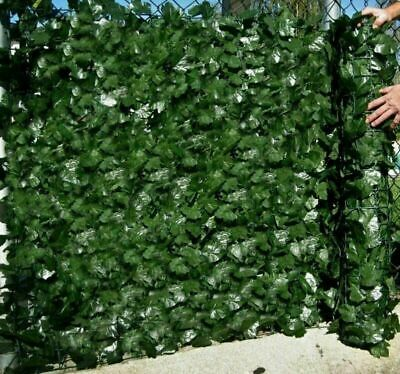 £15.88 • Buy Artificial Faux Ivy Leaf Hedge Decor Panels Roll Privacy Screening Garden Fence