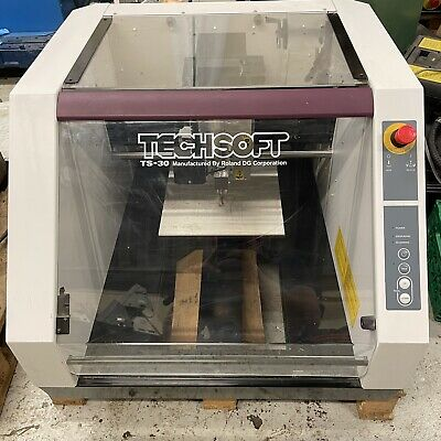 £950 • Buy Roland Techsoft TS30 CNC Engraving Milling Machine 240v USB With Software