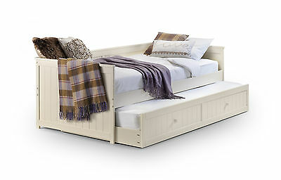 £339.99 • Buy Jessica 3ft Cream Day Bed With Guest Bed