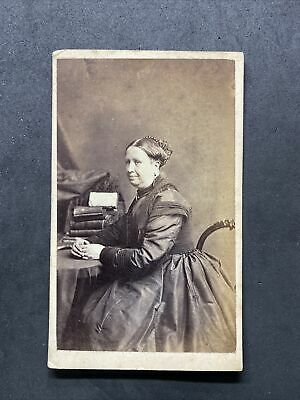 Victorian Carte De Visite CDV: Lady: Newcombe (Flather) London • 4.75£
