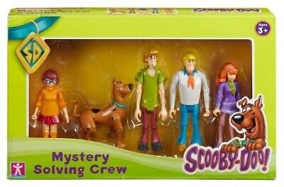 £14.99 • Buy Scooby Doo Mystery Solving Crew Action Figure Toy Set Toys Pack - New