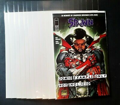 £7.50 • Buy 10x Comic Sleeves And Boards -  Modern / Current Size