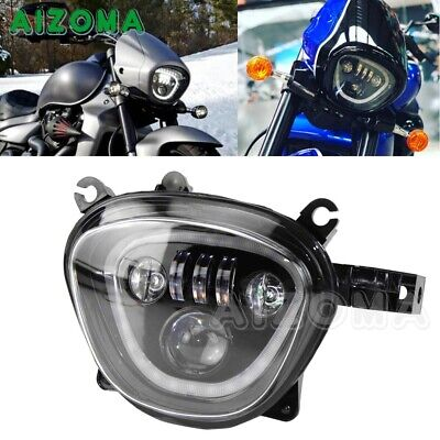 $352.16 • Buy LED Headlight Assembly W/ DRL Hi-Low Beam Front Lamp For Suzuki Boulevard M109R