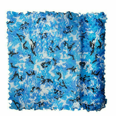Sea Blue Camouflage Net Camping Shooting Decoration Army Hide Hunting Military • 6.99£