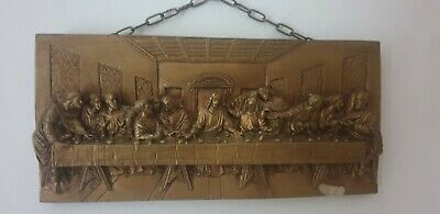 £10 • Buy The Last Supper 3D Resin Plaque