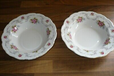 £12 • Buy Royal Albert Tranquility 1969 2 X 8 Inch Dia Soup Bowls   - Seconds