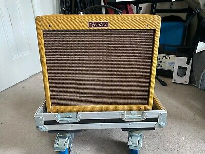 £550 • Buy Limited Edition, Lacquered Tweed Blues Junior With Flight Case (+Modded PCB)