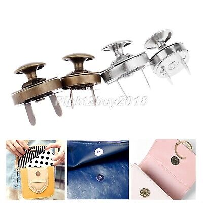 £6.25 • Buy 10 Sets 0.55 /0.71  Thin Magnetic Buttons Press Snaps Purse DIY Tool 2 Color New
