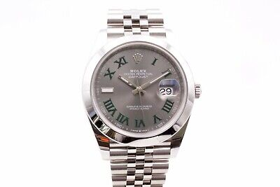 $ CDN15000.29 • Buy Rolex Datejust 126300 Wimbledon Box And Papers 2021 Unworn