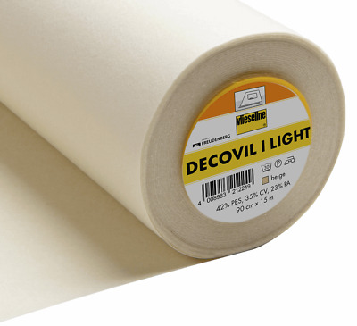 £6.50 • Buy Decovil I Light Fusible Interfacing By Vlieseline Vilene With Same Day Dispatch!