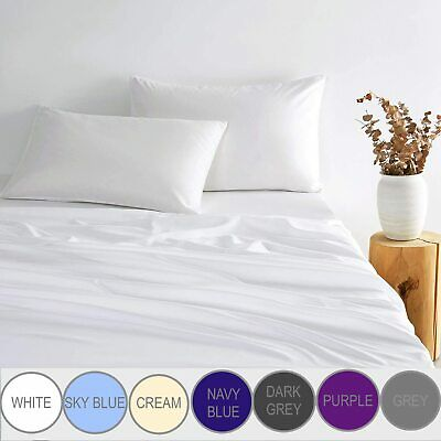 AU36.95 • Buy 1000 Thread Count Super Soft Bed Sheets Set - Single Double Queen King Sizes