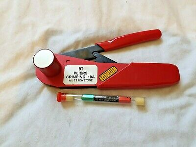 £30 • Buy British Telecom Pliers Crimping Tool 19A Made By MILES ROYSTON LTD