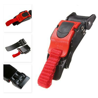 £2.24 • Buy Motorcycle Helmet Chin Strap Speed Sewing Clip 9 Gear Quick Release Buckle
