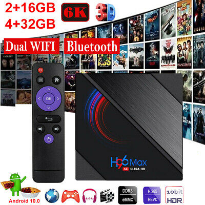 AU46.99 • Buy 2021 H96 Max Pro TV BOX Android 10.0 Version USB3.0 WiFi 6K Smart Media Player