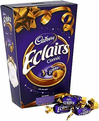 £10.99 • Buy 🍫CADBURY ECLAIRS 2 X 420G BOX Milk Chocolate Toffee Birthday Present Gift🎁