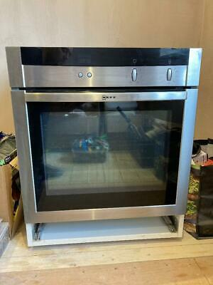£120 • Buy NEFF Integrated 60cm Stainless Steal Single Oven - B15M42N0GB