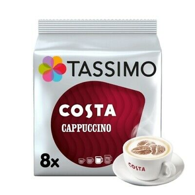 £22.45 • Buy Tassimo Costa Cappuccino Pack Of 5 (Total Of 40 Coffee Pods)