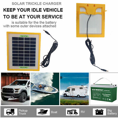AU28.93 • Buy 5W 12V Solar Panel Output Battery Charger Power Bank DIY Camping Hiking Outdoor