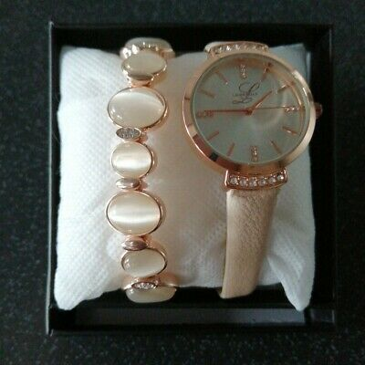 £20 • Buy Laura Bella Watch And Bracelet Set In Box -Lovely Valentine Gift