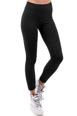 £3.99 • Buy New Womens Ladies Stretch Thick Winter Warm Thermal Fleece Lined Leggings 6-24