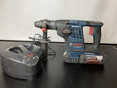 £249.99 • Buy Bosch GBH 36 VF-Li Plus Hammer Drill With Charger & 4.0Ah Battery