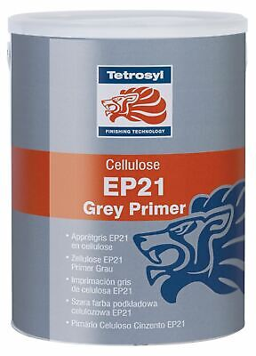 £29.49 • Buy Tetrosyl EPS050 Cellulose EP21 Grey Primer 5L Fast Drying Paint Refinish Topcoat