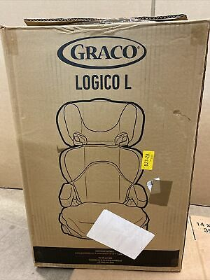 £35 • Buy Graco Logico L High Back Booster Car Seat, Group 2/3 - Iron Grey