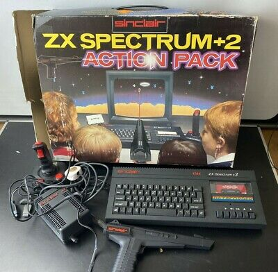 £175 • Buy Sinclair - ZX Spectrum  2 - 128k - Boxed Action Pack - Super Condition. Working