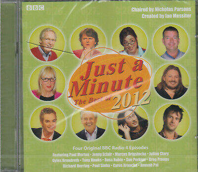 £2.45 • Buy Just A Minute The Best Of 2012 Audio 2CD NEW* Comedy Game Show BBC Radio 4