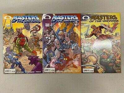 $56.99 • Buy 3x MASTERS OF THE UNIVERSE 1 VARIANT GOLD FOIL INVINCIBLE PREVIEW IMAGE*