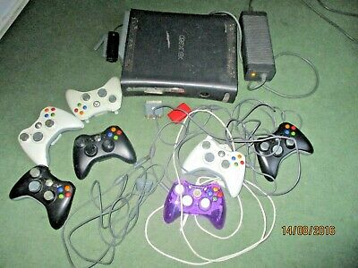 AU35.76 • Buy XBox 360 60GB HDD Console With Controllers