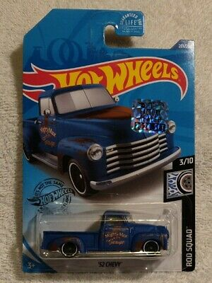 AU2.86 • Buy Hot Wheels 2020 '52 Chevy Pickup Factory Sealed Sticker In Package.