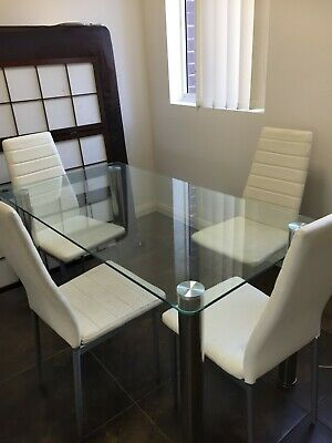 AU80 • Buy 5 Pcs Modern Dining Table And Chairs Set