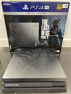 AU350 • Buy The Last Of Us Part 2 PS4 Pro Console + Ghosts Of Tsushima Game