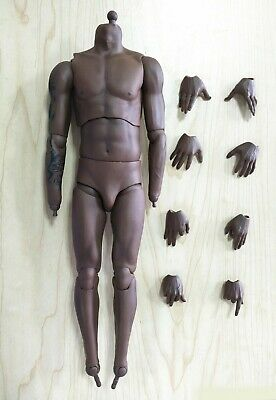 $95.99 • Buy CUSTOM 1/6 NBA Lakers Kobe Bryant Tattoo Nude Body With 8 PCS Hands @ENTERBAY