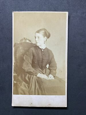 Victorian Carte De Visite CDV: Young Lady Named Alice Kirke • 2.50£