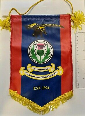 Inverness Caledonian F.C. Vintage (early 2000s) Original Pennant - ICT FC • 5£