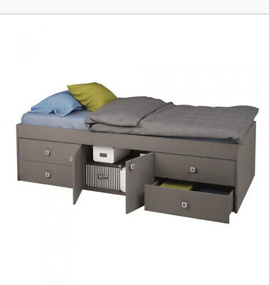 £10 • Buy BNIB: Arctic GREY Single CABIN Bed With Drawers