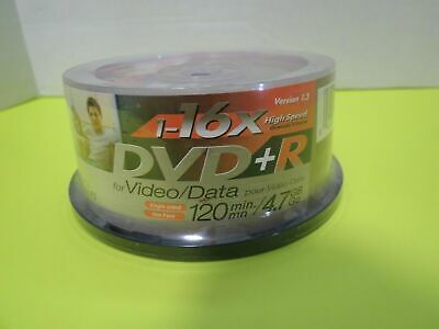 £13.95 • Buy JVC DVD+R RECORDABLE High Performance 4.7GB 120min 30 Disc Spindle