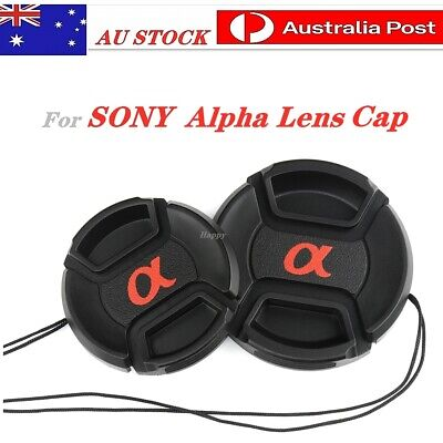 AU6.45 • Buy Sony Alpha  Lens Cap  49mm, 55mm, 58mm, For Replacement.