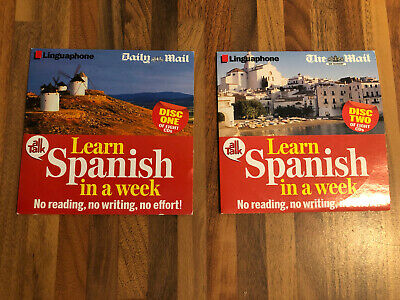 £4.99 • Buy All Talk Learn Spanish In A Week  Linguaphone Course - First 2 Cds