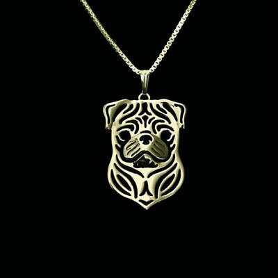 £10.64 • Buy Pug Charm Silver Pendant Necklace Dog Lover, Friend Gift, Gifts For Her