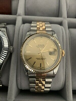 AU5022.86 • Buy Rolex Datejust 36mm Two Tone Jubilee