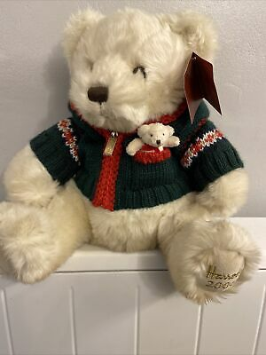 2006 Harrods Christmas Teddy Bear  - Collectable. With Tags. • 5£