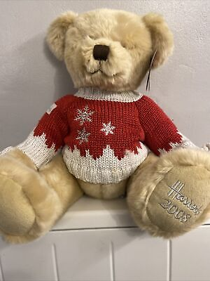 2008 Harrods Christmas Teddy Bear  - Collectable. With Tags. • 5£