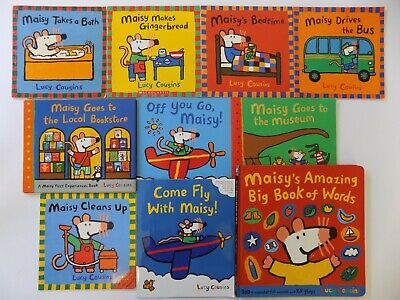 $38.99 • Buy Lot 10 Maisy Mouse Series Picture Books By Lucy Cousins