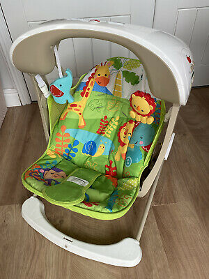 £25 • Buy Fisher-Price Rainforst Take-Along Swing And Seat