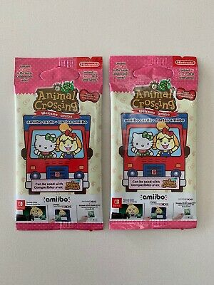 AU69 • Buy Official Animal Crossing Sanrio Amiibo Cards Pack NEW UNOPENED