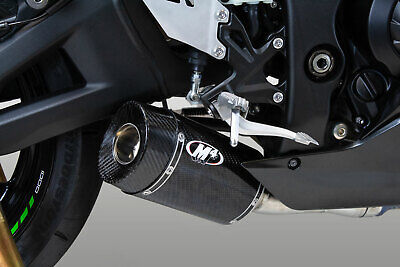 $438 • Buy M4 Exhaust Kawasaki ZX10R 2021 STREET SLAYER SLIP-ON WITH CARBON CANISTER